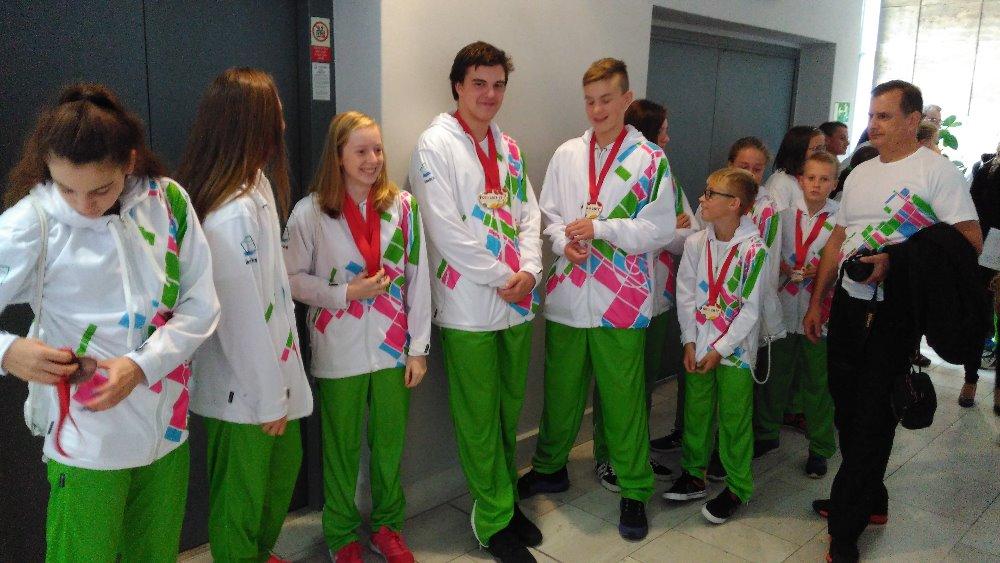 Ocenění medailistů z LODM